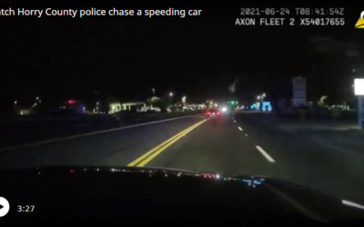 Dashcam footage tells story of deadly Horry police chase